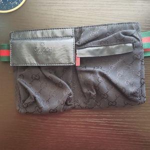 Black Gucci belt bag/ fanny pack